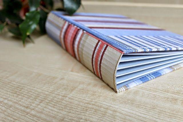paper fun: Переплет для миниальбома - мастер-класс Анны Соловьяновой