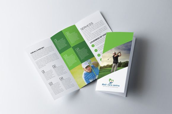 Corporate Brochure by MrTemplater on @creativemarket free brochure - free brochure templates word