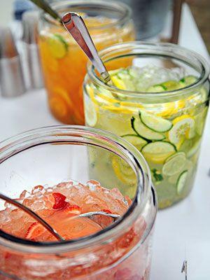 Infused tea and lemonade