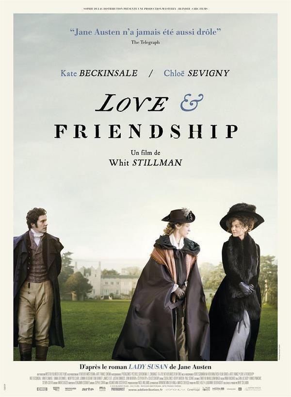 Love & Friendship    Support: Bluray 1080    Directeurs: Whit Stillman    Année: 2016 - Genre: Comédie / Drame / Romance - Durée: 92 m.    Pays: United Kingdom / United States of America / Ireland / Netherlands / France - Langues: Français, Anglais    Acteurs: Kate Beckinsale, Chloë Sevigny, Xavier Samuel, Stephen Fry, Emma Greenwell, Justin Edwards, Tom Bennett, Morfydd Clark, Jemma Redgrave, James Fleet, Jenn Murray, Kelly Campbell, Conor Lambert...