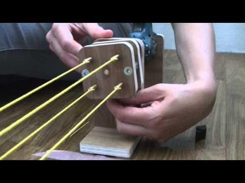 ply split braiding, koorden maken met elsbeth-Nynke - YouTube