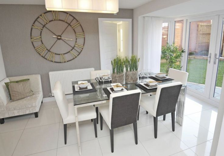 Barratt homes somerton at glenfield park kirby road for Conservatory dining room design ideas