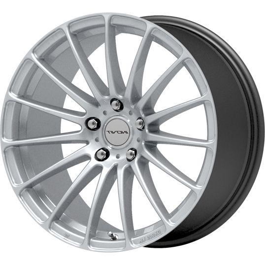 INOVIT FORCE 5 HYPER SILVER alloy wheels with stunning look for 5 studd wheels in HYPER SILVER finish with 19 inch rim size