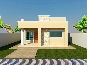 Fachadas de casas sencillas (1)   Curso de organizacion de hogar aprenda a ser organizado en poco tiempo