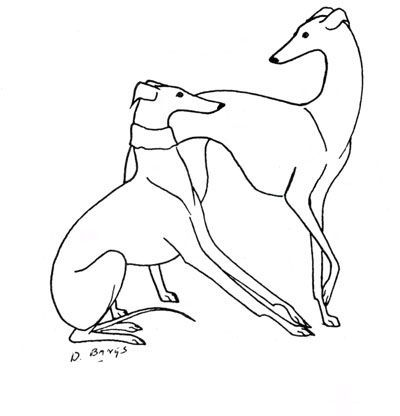 whippet tattoo on hand - Google Search                                                                                                                                                     More