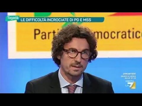 Danilo Toninelli (M5S) a Tagadà 17/1/2017