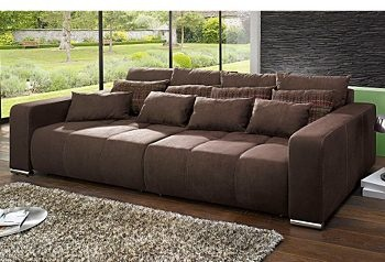 Big-Sofa, mit Bettfunktion,