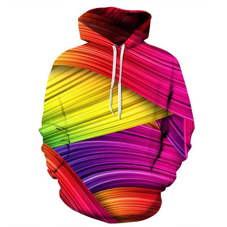 Mr.1991INC New Fashion Autumn Winter Thin 3d Sweatshirts Men/Women Hoo