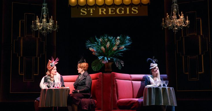 In this musical, Patti LuPone and Christine Ebersole portray the beauty market rivals Helena Rubinstein and Elizabeth Arden.