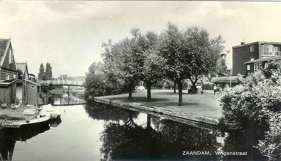 Wilgenstraat Zaandam (jaartal: 1960 tot 1970) - Foto's SERC
