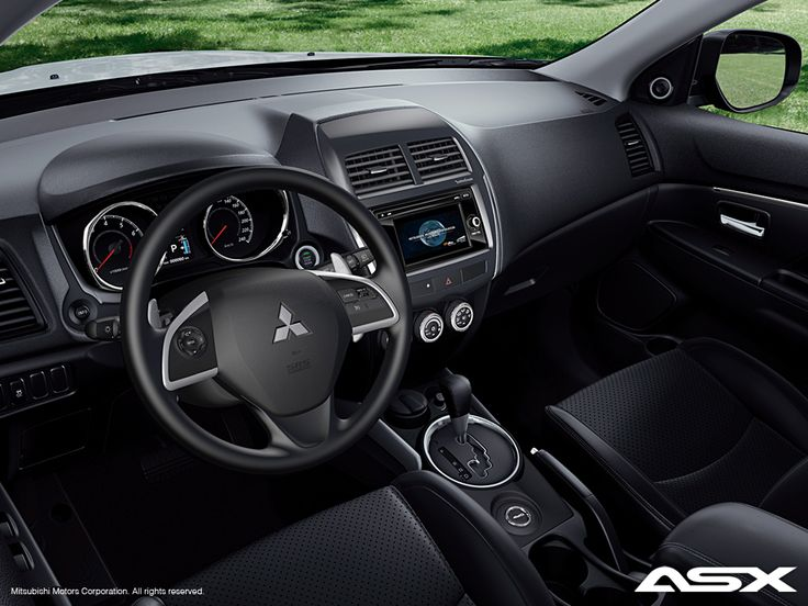Mitsubishi ASX İç Tasarım | Ulugöl Otomotiv Mitsubishi ASX sayfası: http://www.ulugol.com.tr/Mitsubishi-Detay.aspx?id=42