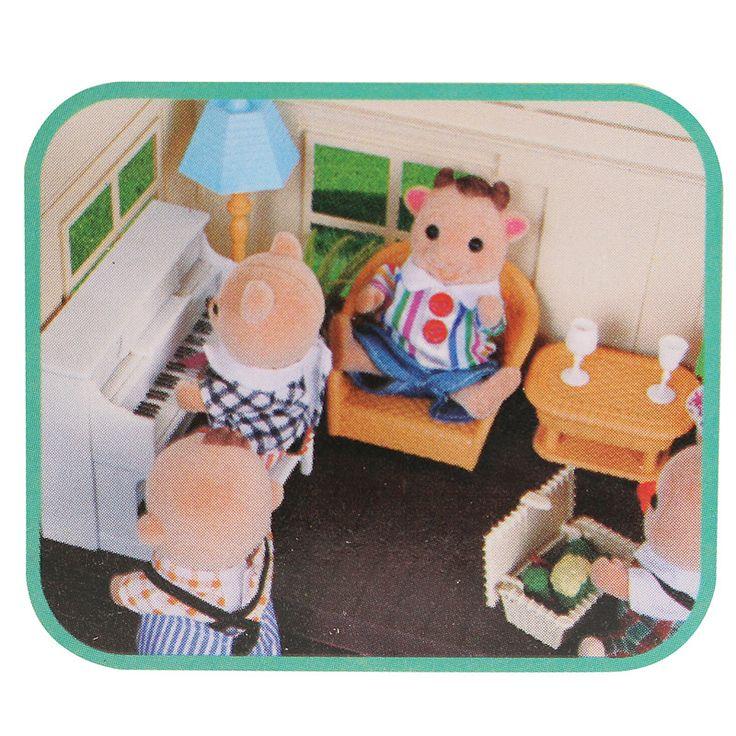 1:12 Simulation Sofa Piano Set Playhouse Props Dollhouse Creative DIY Material