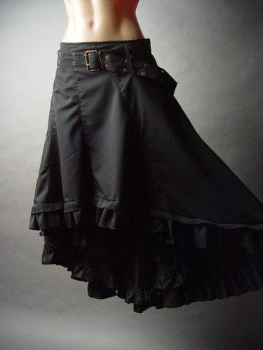 Steampunk Victorian Goth Pirate Wench Showgirl Frontier Petticoat FP Skirt 2XL | eBay