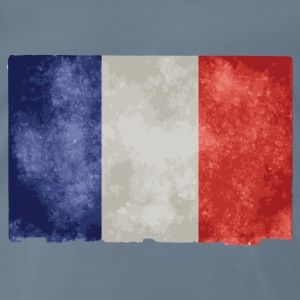t shirt bleu g homme drapeau français bleu blanc rouge - T-shirt Premium Homme