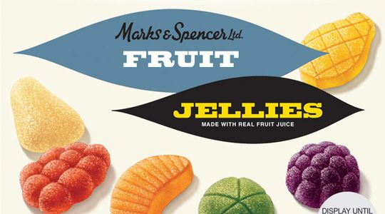 Marks & Spencer 125 years Anniversary Packaging: Retro-style design