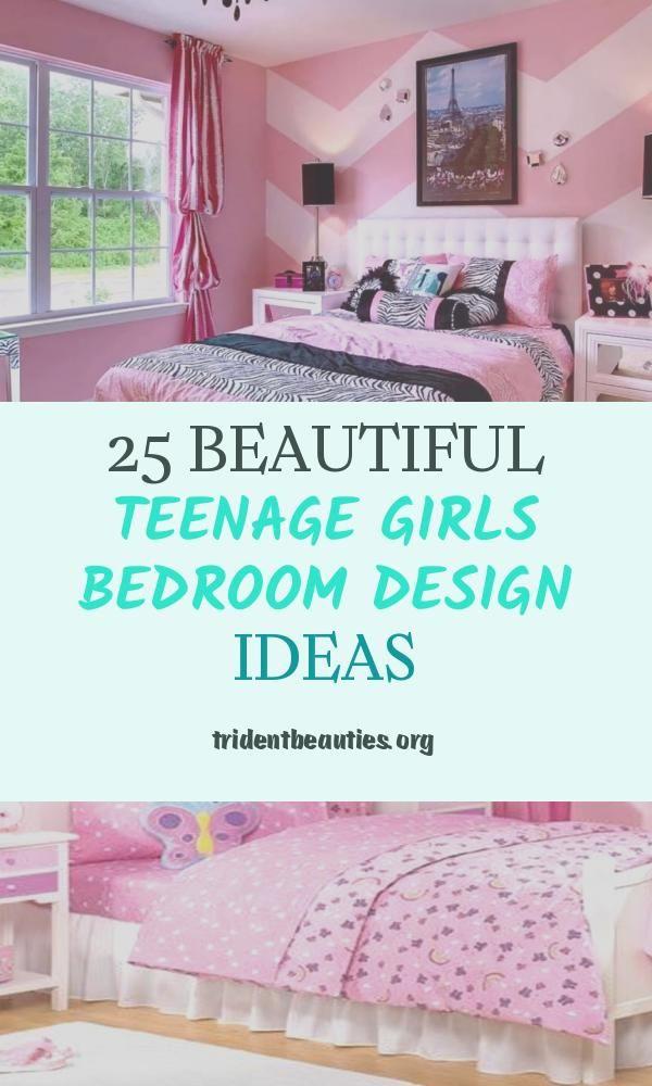 25 Beautiful Teenage Girls Bedroom Design Ideas Girl Bedroom Designs Teenage Girl Bedroom Designs Bedroom Design Bedroom designs teenage girls bedrooms