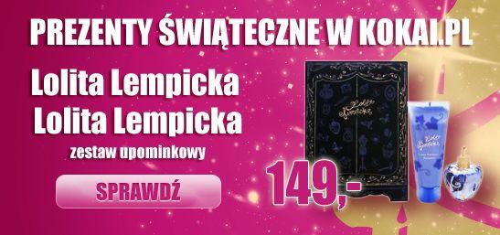 Zestaw Lolita Lempicka : edp 100ml oraz balsam do ciała 100ml w promocyjne cenie.  Tylko do wyczerpania zapasów. http://www.kokai.pl/zestawy/lolita-lempicka/lolita-lempicka/zestaw-dla-pan-2-elementy