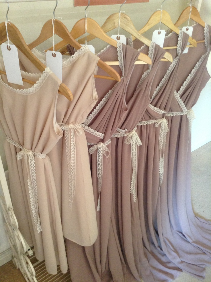 Bridesmaid dresses dusky pink and nude chiffon www for Dusky pink wedding dress