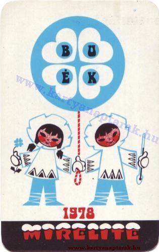 1978 - 1978_0400 - Régi magyar kártyanaptárak