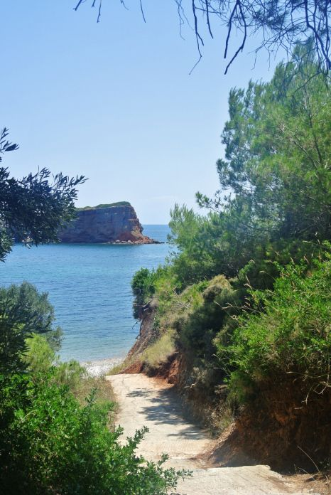 Kokkinokastro Beach, Alonissos, Greece