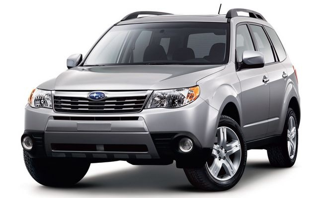 Just like my Subaru Forester. 2010