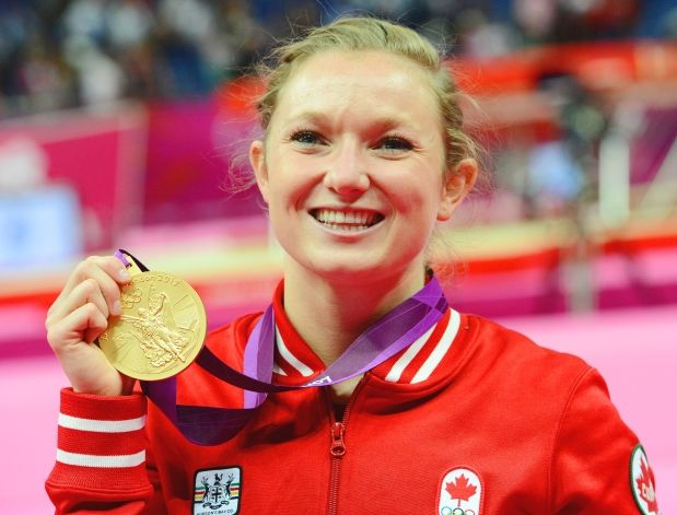 Day 8 (August 4th, 2012) - Gold - Women's Trampoline - Rosie MacLennan - Canada's first-ever gold medal in trampoline