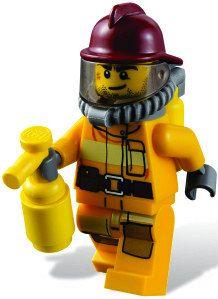 Lego Fireman WALL STICKER lego city wall sticker by Hatsbyalyssa, $65.00