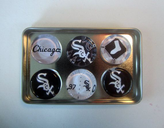 Chicago White Sox Fridge Magnets Chicago White Sox by DLRjewelry