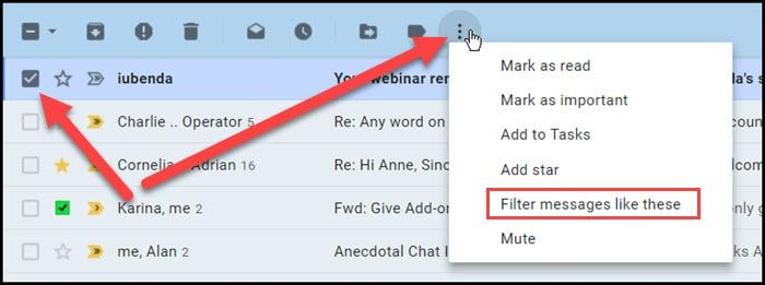 This Gmail Tutorial Shows 5 Ways To Mass Delete Gmail Items Based On Sender Size Text Pattern Tab Status It Includes Info On Rest Webinar Gmail Portfolio