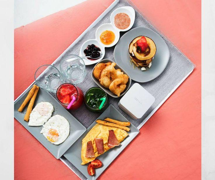 Boost your day! #breakfast #sophiasuites #santorini #imerovigli #luxuryhotels