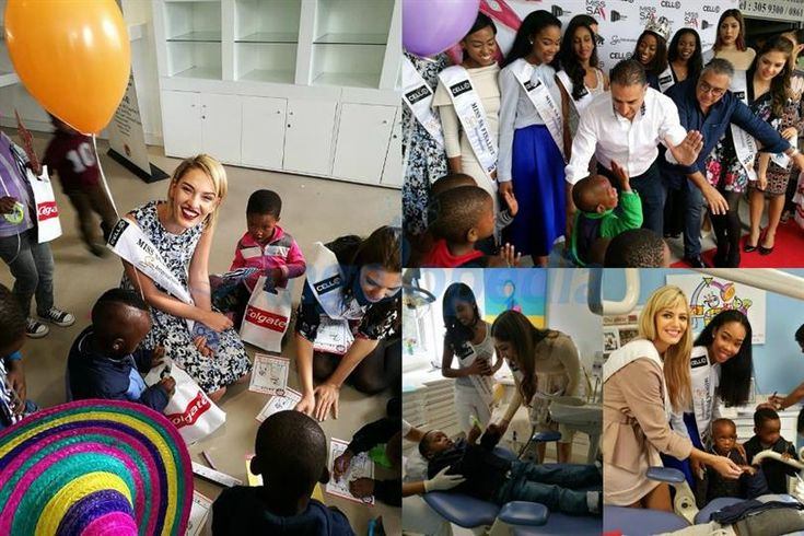 Miss South Africa 2017 finalists visit Cahi Dental and Prosthodontic