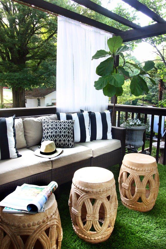 Patio Style Challenge Redux  Hunted Interior  Outdoor AreasOutdoor RoomsOutdoor  LivingEden  342 best Patio images on Pinterest   Outdoor patios  Outdoor  . Eden Outdoor Living Round Rock. Home Design Ideas
