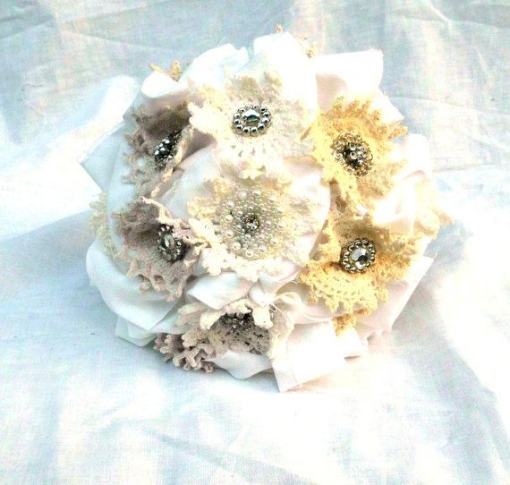Brooch Vintage Bridal Bouquet Receive Off Your Wedding Party Package If You Place A Deposit This Weekend
