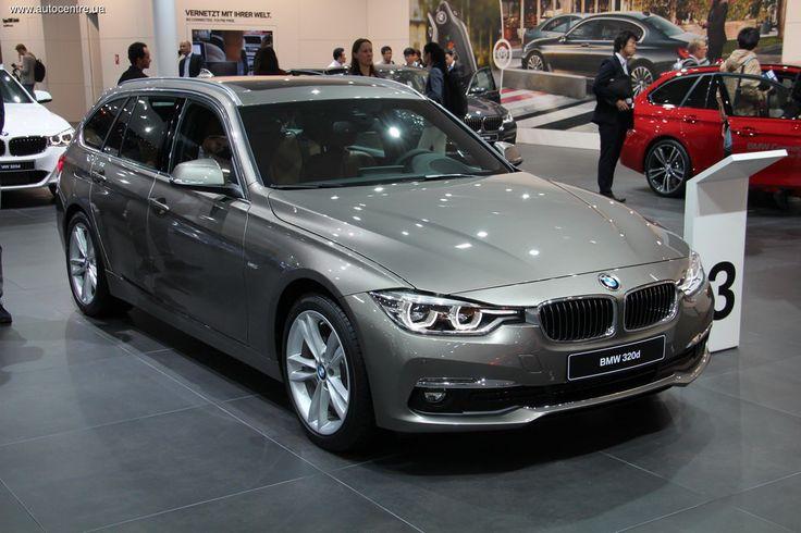 На Франкфуртский автосалон 2015 привезли обновленную BMW 3-Серии