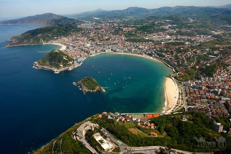 San Sebatian, Spanje. https://www.hotelkamerveiling.nl/hotels/spanje/hotel-san-sebastian.html #donostia #san sebastian #spanje