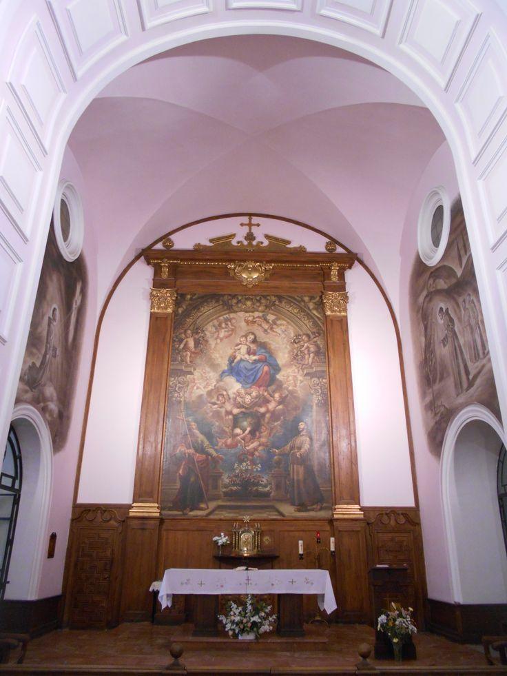 Altar Mayor . Convento de Nuestra Señora de los Angeles. El Pardo. Madrid
