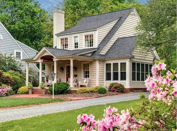 house exterior design front porch shed dormer window ideas driveway