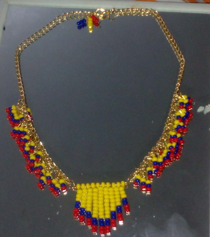 Collar pepas Colombia