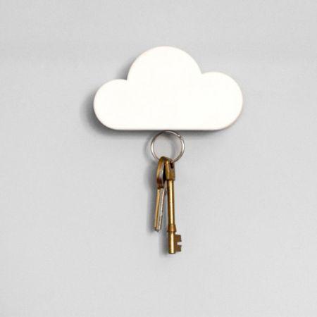 Suck UK Cloud magnetic key holder - hardtofind.