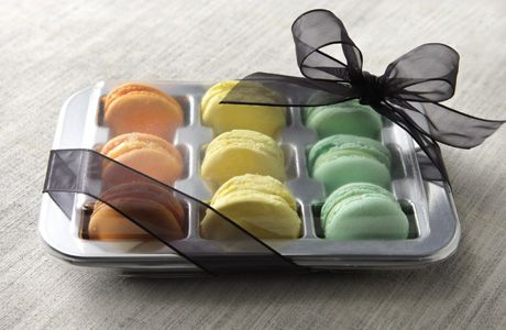 Scatole per confezionamento macarons in vari formati www.dolcefardolci.com