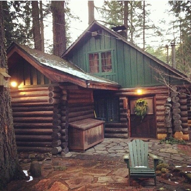 This Tiny Cabin In The Redwoods Is The Perfect Getaway For: Love This Rustic, Hidden House. Perfect Little Getaway