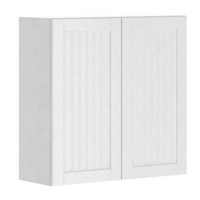 Odessa Wall Cabinet In White Melamine And Door In White Melamine White Wall Cabinetslaundry Roomhome Depotremodeling