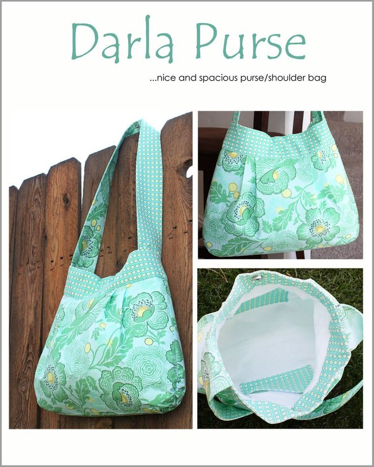 Darla purse pattern and tutorial