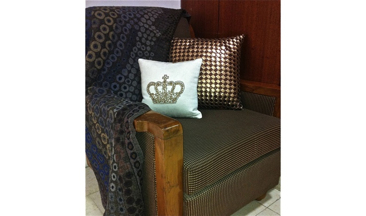 Get into the Ultra-Snob Feel....  Pictured here are Cygnus and Ceres-Copper/Bronze Cushions