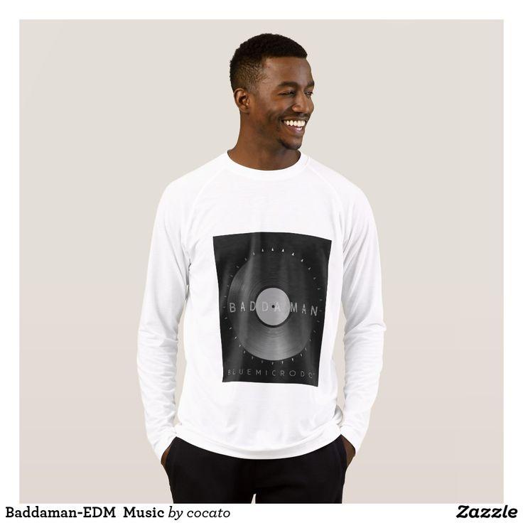 Baddaman-EDM Music T-Shirt