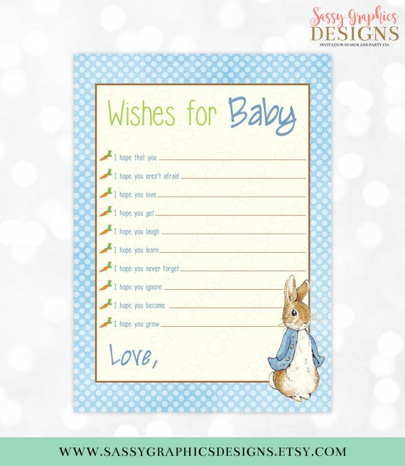 15 Best Peter Rabbit Baby Shower Images On Pinterest