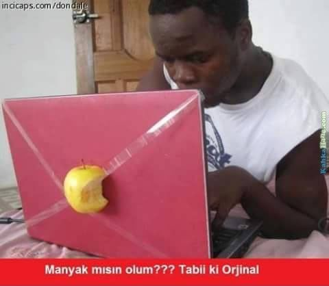 Tabii Ki Orjinal Ne Sandın - http://www.kahkahane.com/capsler/tabii-ki-orjinal-ne-sandin/