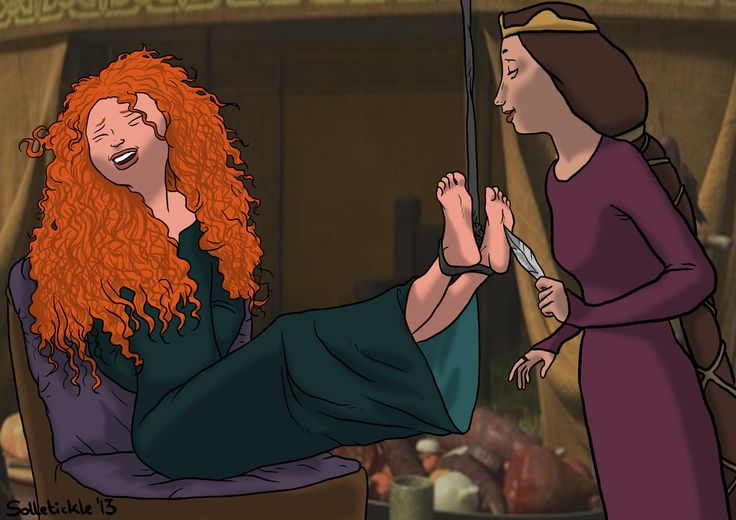Merida Tickled By Solletickle.deviantart.com On