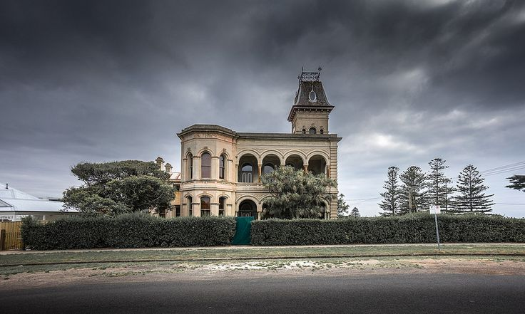 One of the many historic buildings in Queenscliff, Victoria (on the Bellarine peninsula at the entrance to Port Philip Bay).