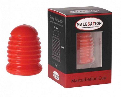 Malesation Masturbation Cup - Rød fra Malesation - Sexlegetøj leveret for blot 29 kr. - 4ushop.dk - Malesation Masturbation Cup er et lille onani legetøj til ham, som trods sin størrelse og udseende, er klar til at hjælpe dig til en kraftig orgasme. Ekstrem fleksibel og med riller indvendigt.